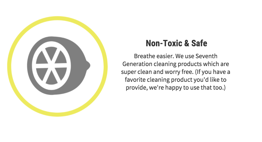 non toxic and safe button